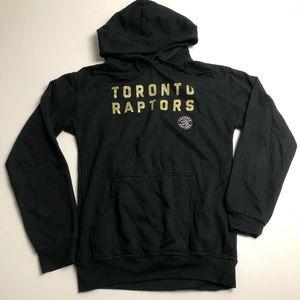 NBA Toronto Raptors Black Pullover Hoodie Large